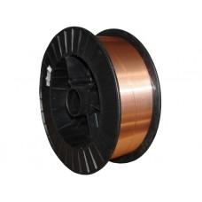 Проволока омедненная КЕДР Св-08Г2С-О Ø 1,0 мм (пластик кат. 15 кг)