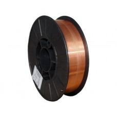 Проволока омедненная КЕДР Св-08Г2С-О Ø 1,0 мм (пластик кат. 5 кг)