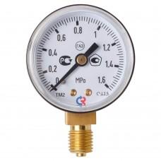 Манометр 1,6 МПа, углекислый газ