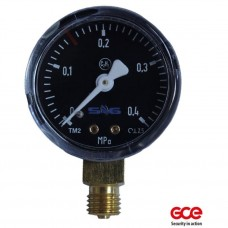 Манометр КРАСС 0-20/40 бар (инертные газы)