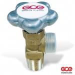 Вентиль газовый балонный GCE Углекислый газ