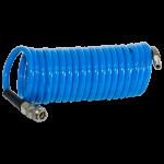 Шланг спиральный Fubag с фитингами рапид, полиуретан, 15бар, 6x10мм, 5м