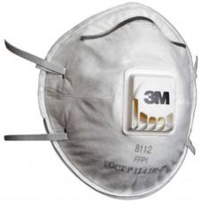 Полумаска 3M 8112 для защиты от пылей и туманов (240 шт/уп)