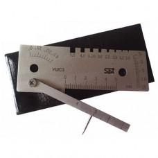 Универсальный шаблон сварщика SPT УШС-3 (с поверкой)